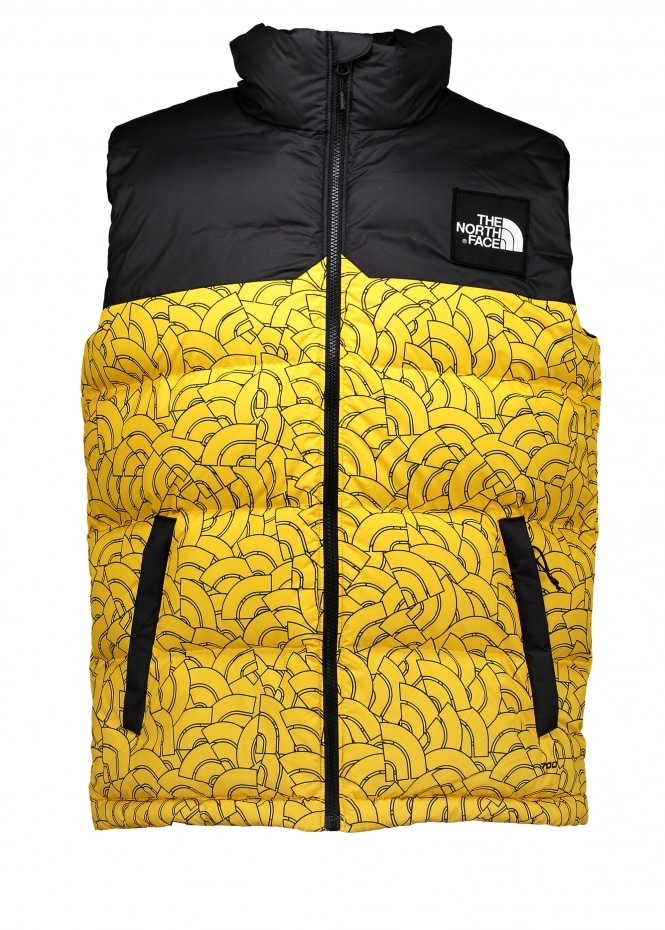 The North Face 1992 Nupste Vest Yellow Dome Gilets
