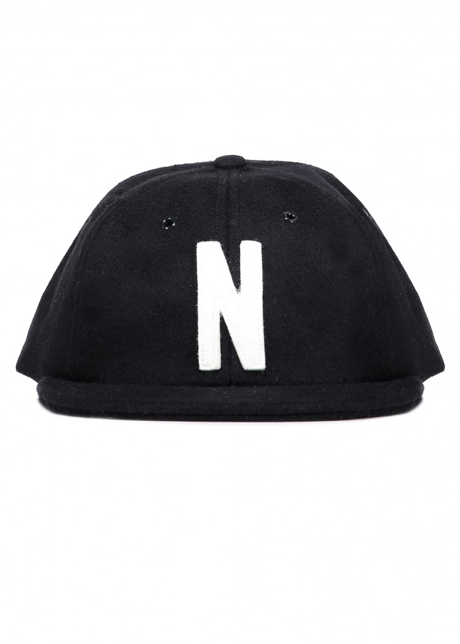 Norse Projects Norse Wool Cap - Black