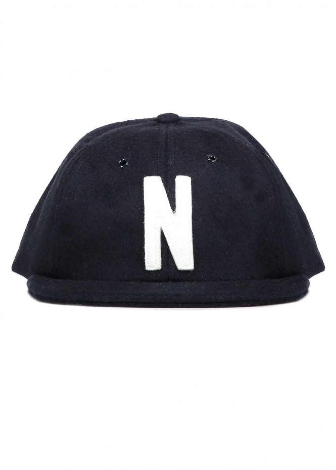 Norse Projects Norse Wool Cap - Navy