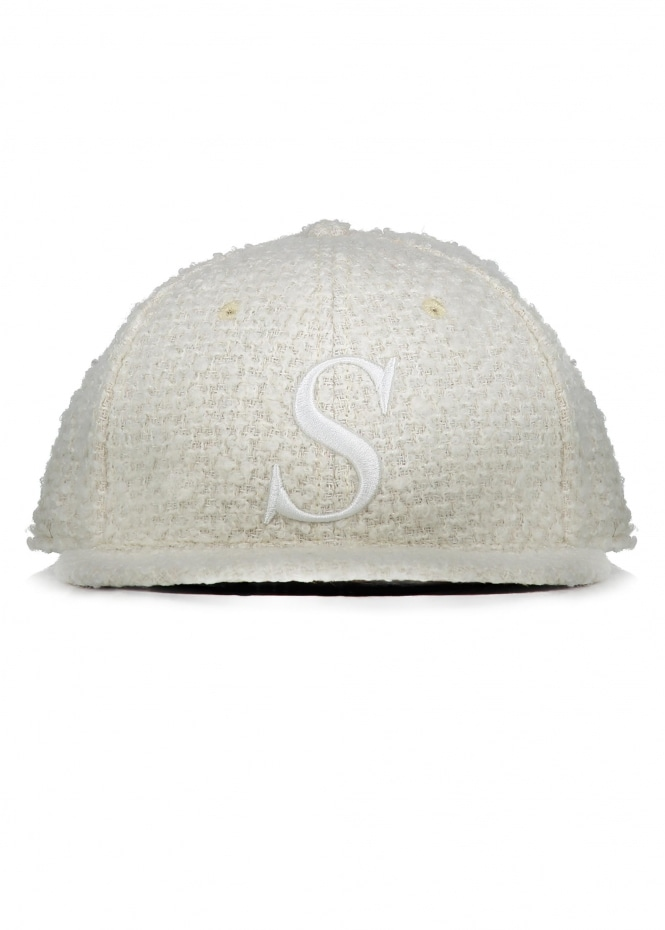 Saturdays NYC Rich S Snap Hat - Ivory