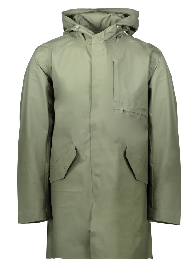 Nanamica Goretex Shell Coat - Khaki