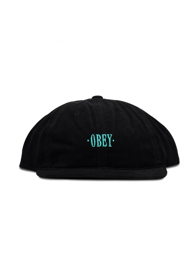 Obey Hazel 6 Panel - Black