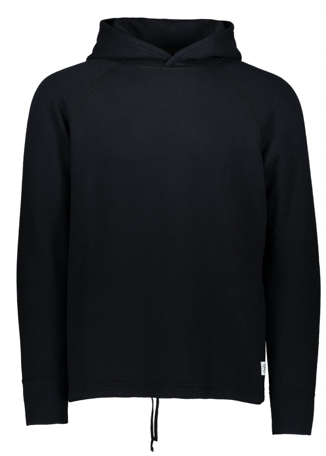 Reigning Champ Knit Mesh Hoodie - Black