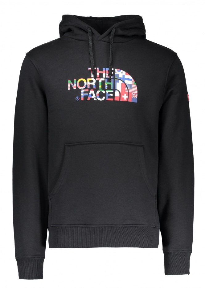 The North Face Ic Logo Hoodie Black Hoodies From Triads Uk