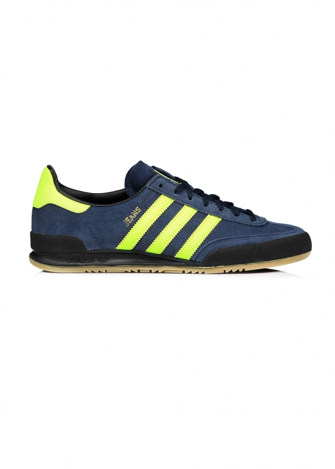Adidas Originals Footwear Jeans Trainers - Navy / Yellow