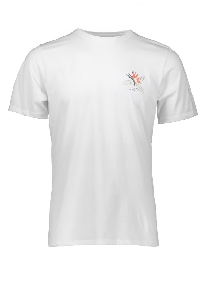 Saturdays NYC Paradise SS Tee - White