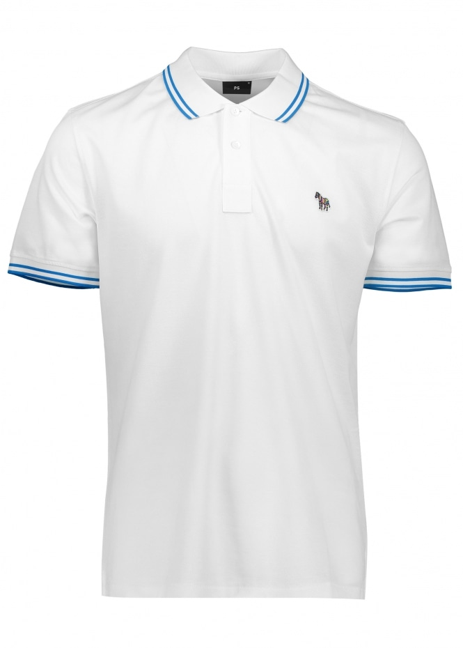 Paul Smith SS Reg Fit Polo - White