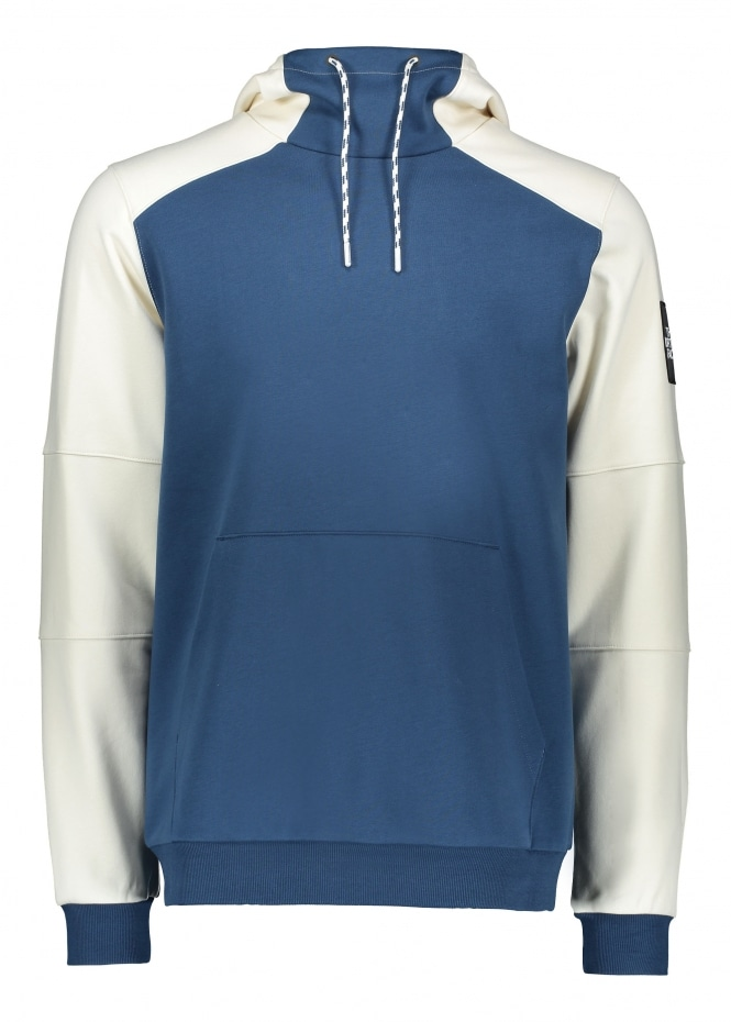 The North Face Fine Box Hoodie - Blue / White