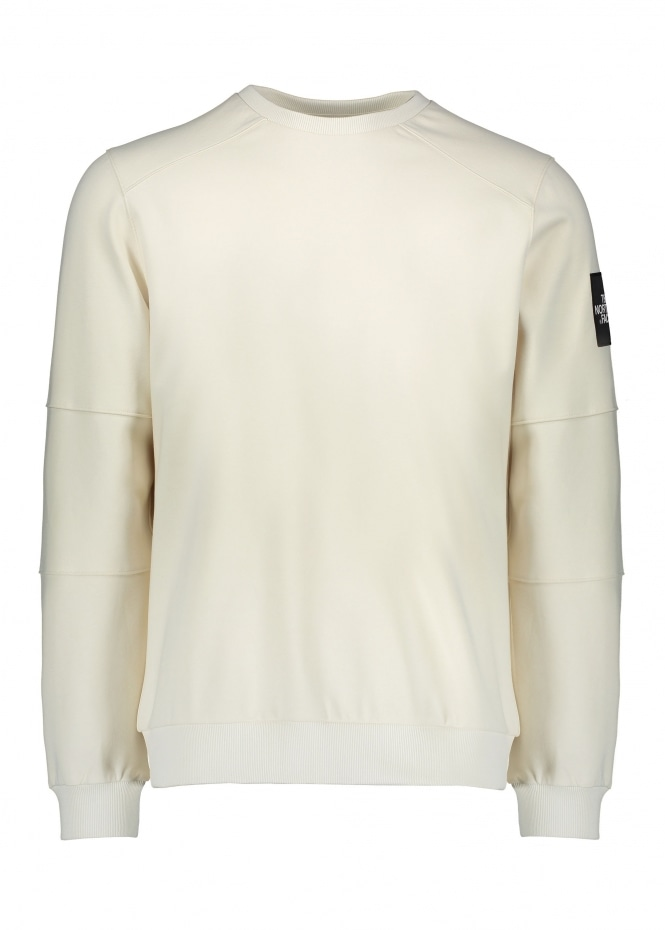 The North Face Fine Crew Sweat - Vintage White