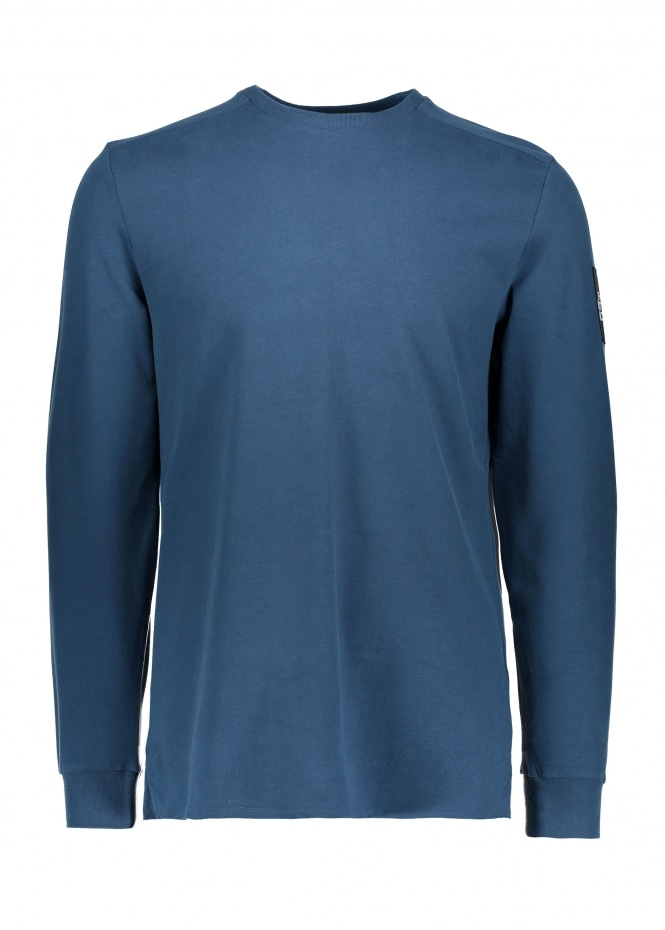 The North Face LS Fine 2 Tee - Blue Wing Teal