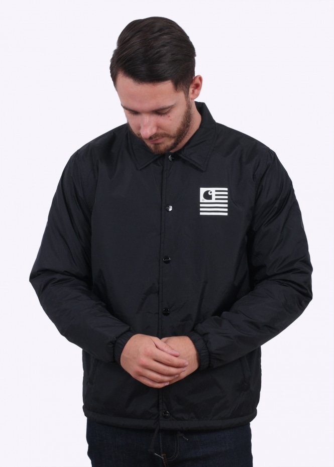 good selling latest exclusive shoes Carhartt WIP State Pile Coach Jacket - Black