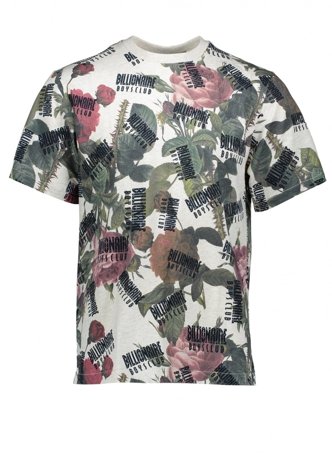 Billionaire Boys Club Floral All Over Print T-Shirt - Floral