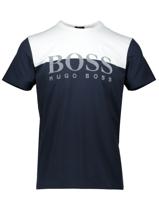 Hugo Boss Tee 5 - Navy
