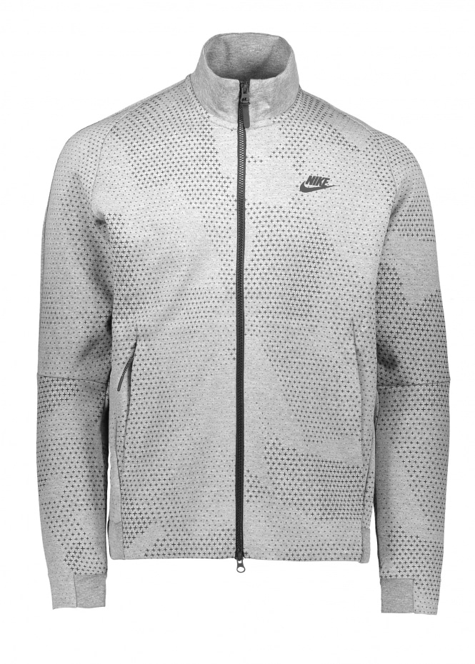 Nike Apparel Tech Fleece Jacket - Carbon Heather