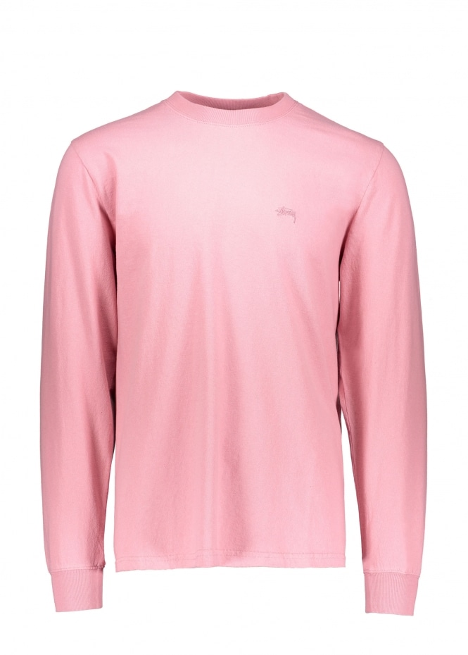 Stussy Stock LS Jersey - Pink