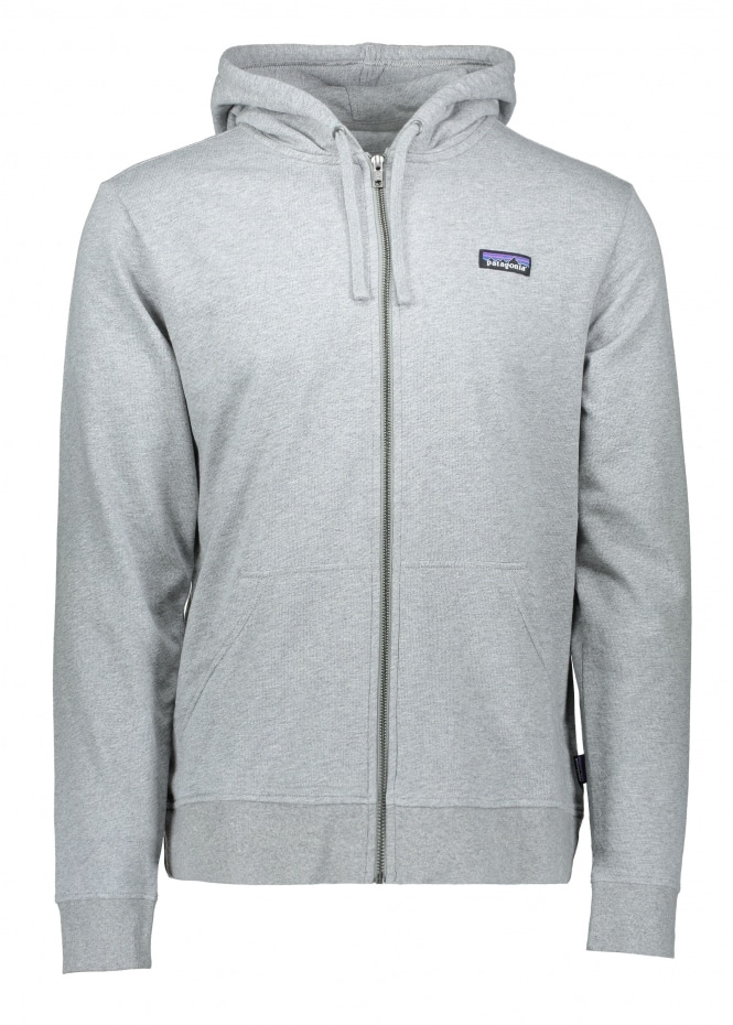 Patagonia P-6 Label Zip Hoody - Feather Grey