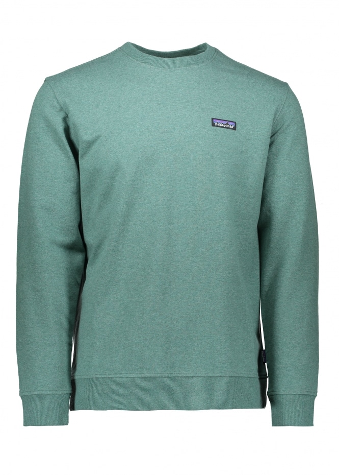 Patagonia P-6 Label MW Sweat - Pesto