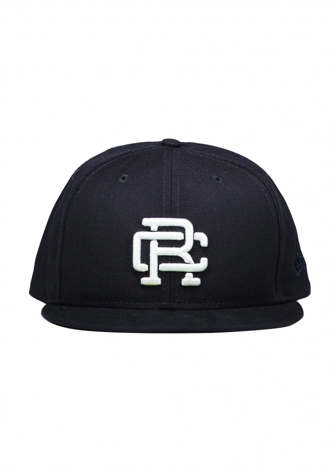 Reigning Champ x New Era Embroidered Cap - Navy - Headwear from ... 8134782734e