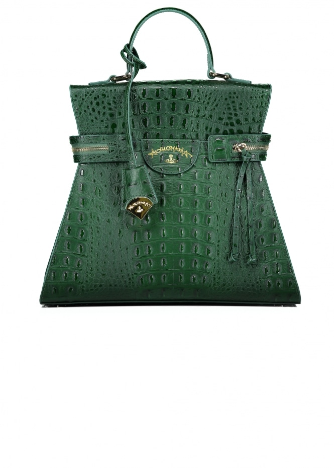 Vivienne Westwood Accessories Kelly Large Handbag - Green