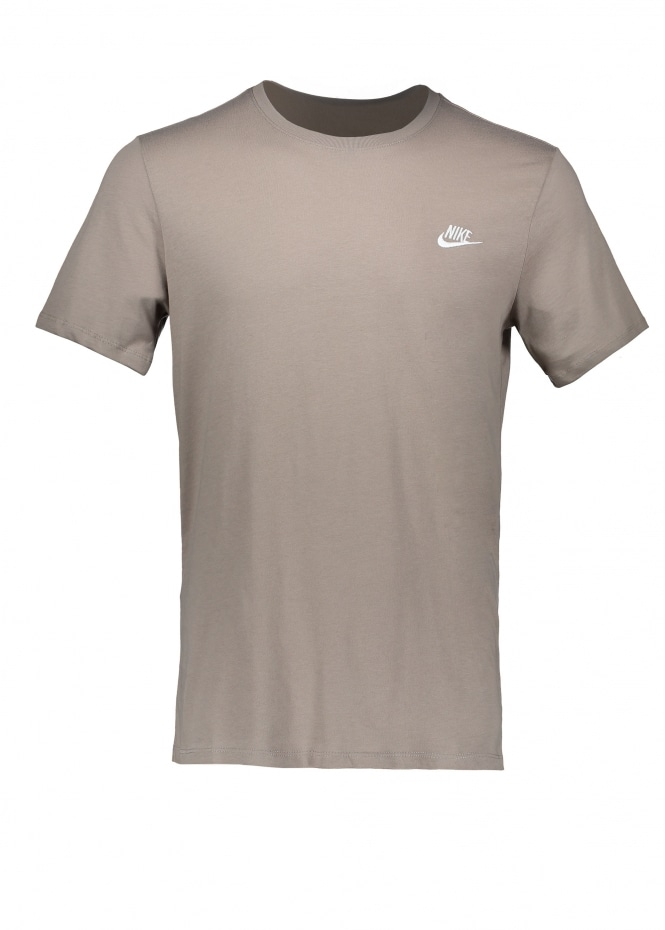 Nike Apparel Embroidered T-Shirt - Sepia Stone