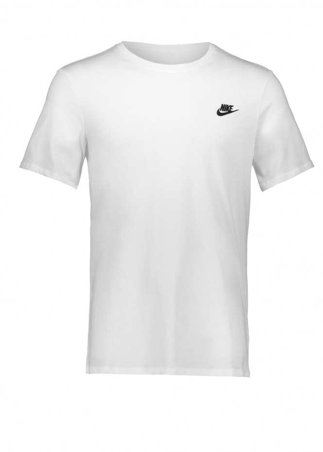 Nike Apparel Embroidered T-Shirt - White