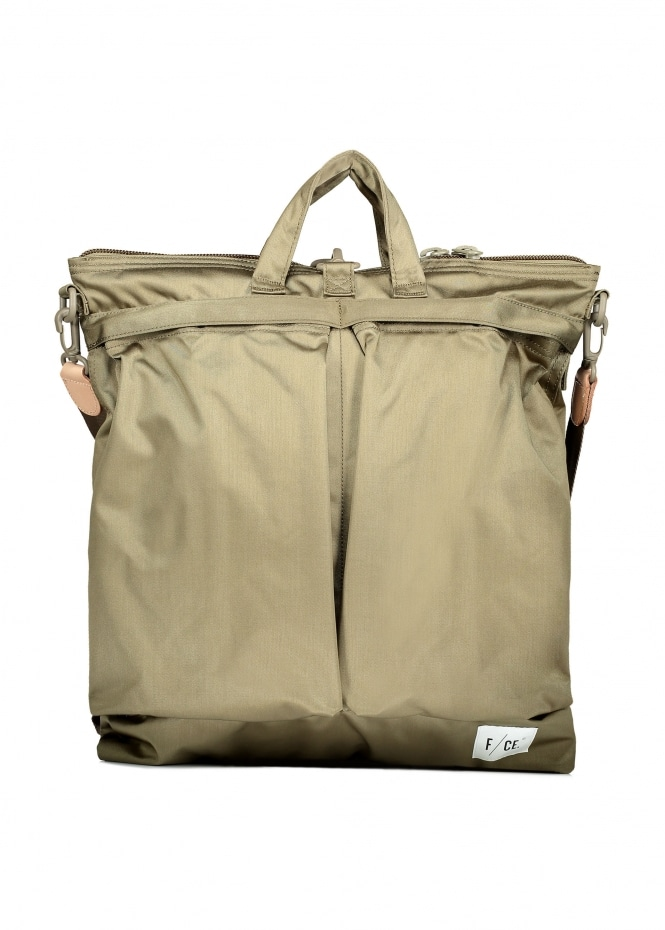 F/CE Satin 3 Way Helmet Bag - Desert