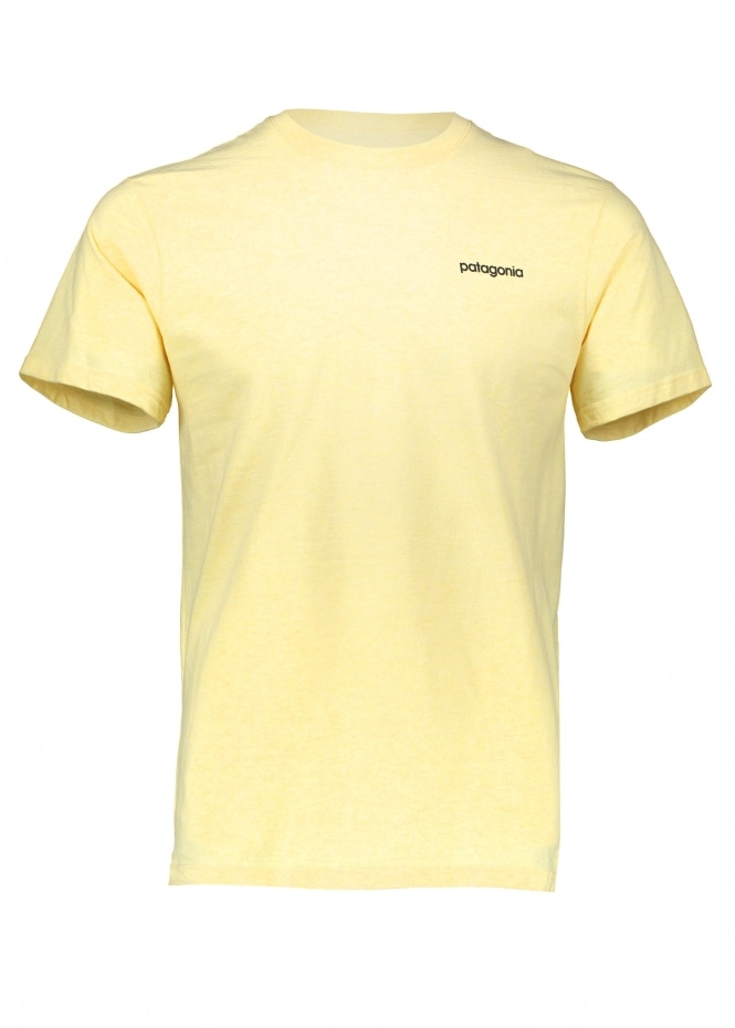 Patagonia Line Logo Tee Crest - Yellow