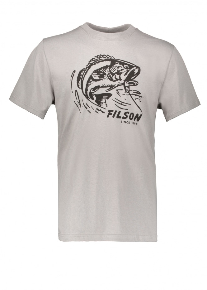 Filson SS Outfitter Graphic Tee - Steeple Grey