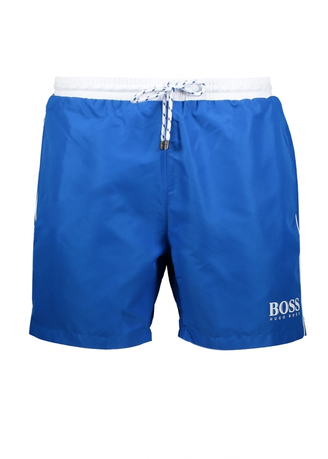Hugo Boss Starfish Shorts - Medium Blue