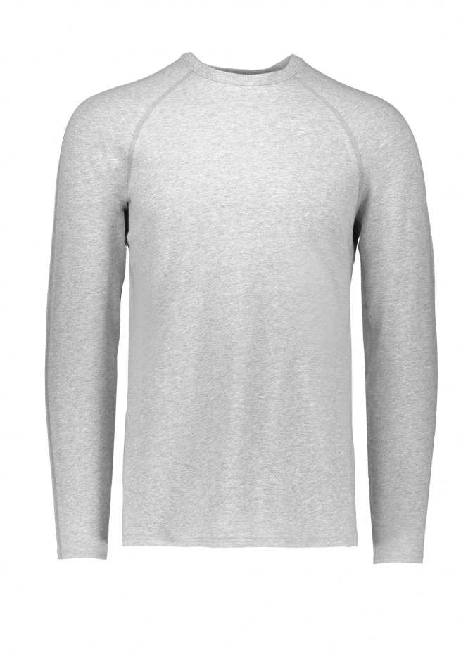 Reigning Champ Knit Mesh Jersey - Heather Grey