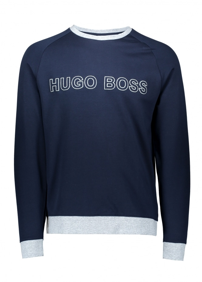 Hugo Boss Contemp Sweatshirt 403 - Dark Blue