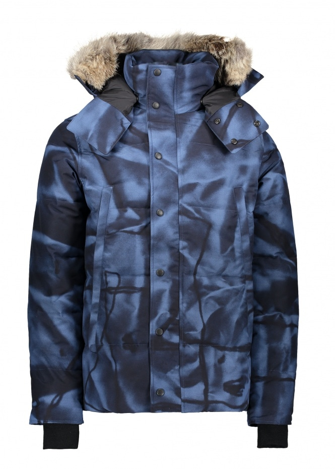 canada goose Parkas Abstract Blue Camo