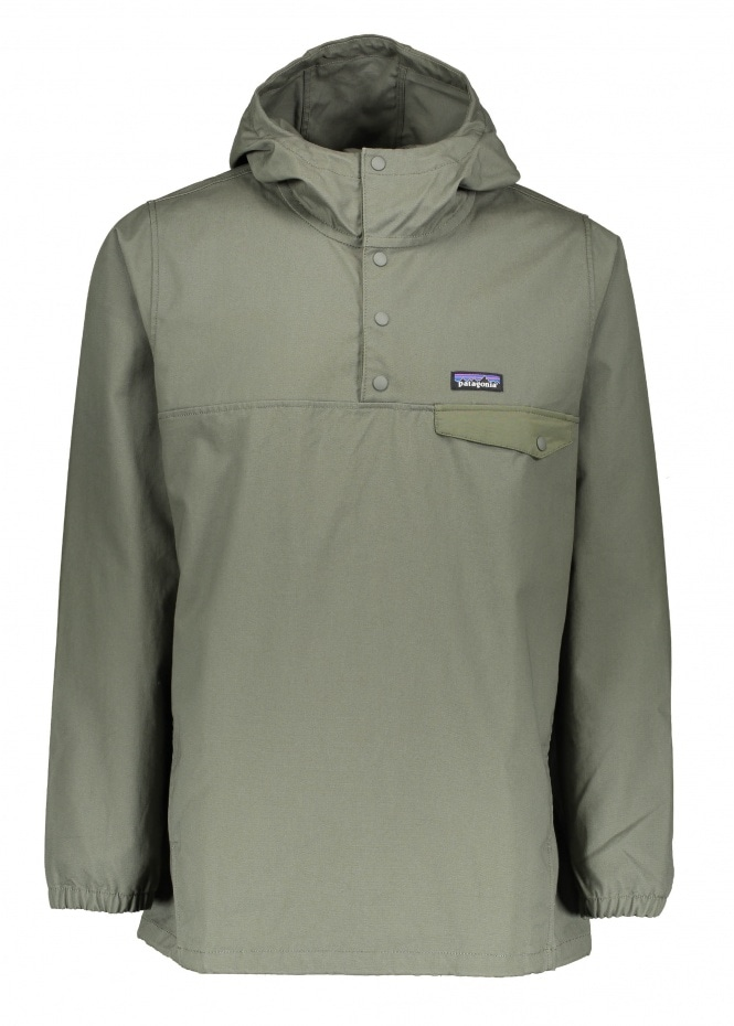 Patagonia Maple Grove Snap-T P/O - Industrial Green ...