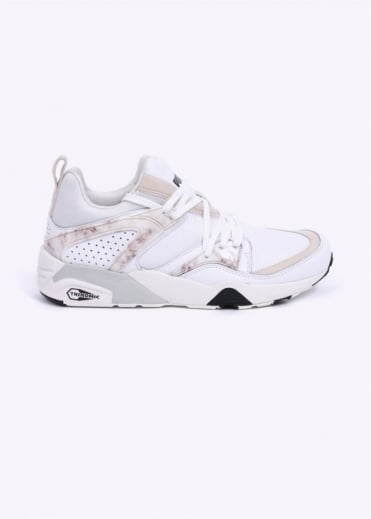 CREAM Blaze of Glory 'Marble Pack' Trainers - Marble White / Black