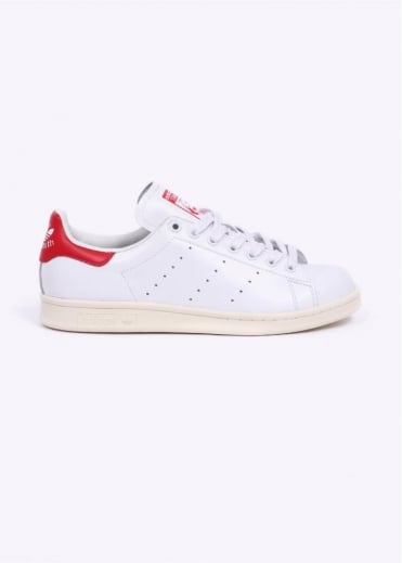 Adidas Originals Footwear Stan Smith Trainers - White / Red