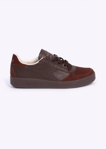 Borg Elite S 'Made in Italy' Trainers - Brown Bison