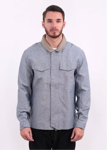 Commuter Hooded Field Jacket - Cliff Grey