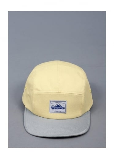 Casper CB 5 Panel Camp Cap - Lemon