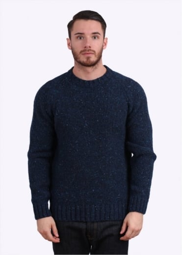 Netherby Crew Jumper - Blue