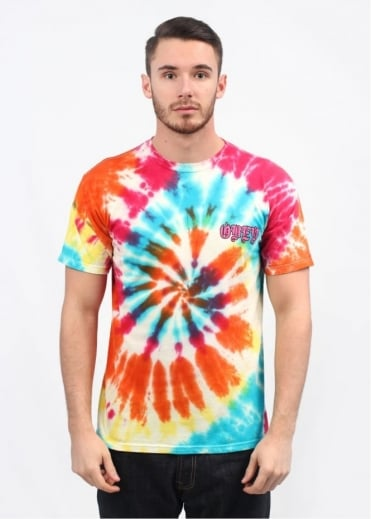 No Mercy Spiral T-Shirt - Rainbow