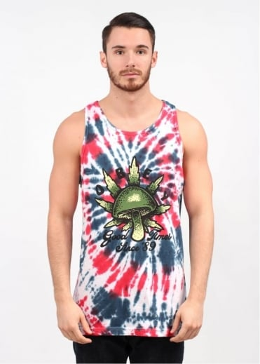 Good Times 89 Tank Top - Americana Spiral