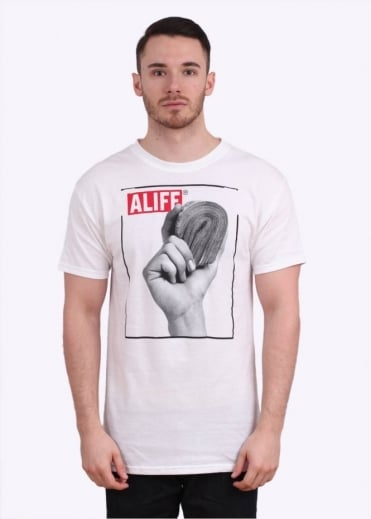 Stacks Tee - White