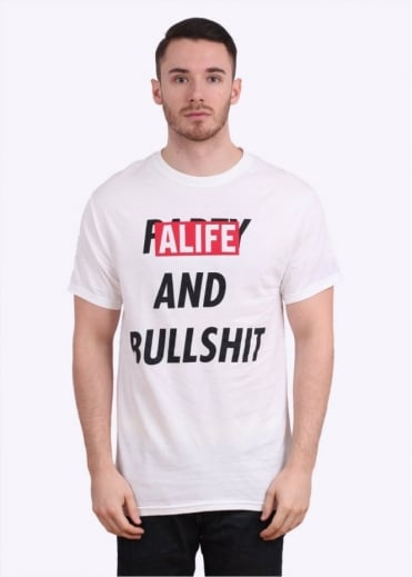 Party & Bullshit Tee - White