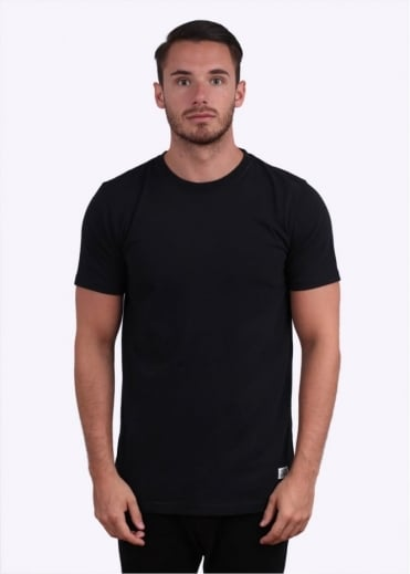 Niels Basic Short Sleeve Tee - Black