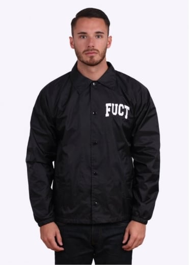 Academy Logo Coach Jacket - Black