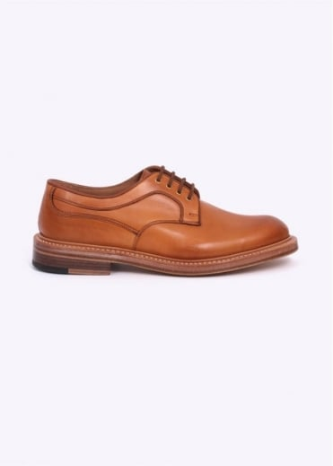 by Triads 1001 Plain Derby Shoes - Burnished Tan
