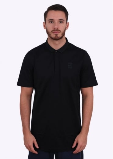 Court Tennis Polo - Navy / Black