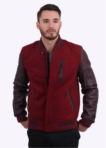 Destroyer Jacket - Team Red Heather / Deep Burgundy