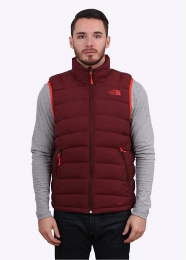 La Paz Vest - Sequoia Red