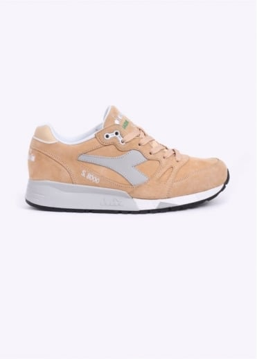 S8000 Italia 'Made in Italy' Trainers - Beige / Wheat